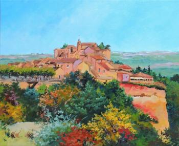 Roussillon, village de provence