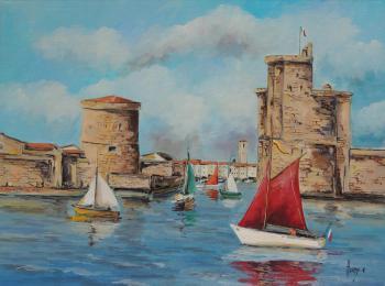 Le port de la Rochelle