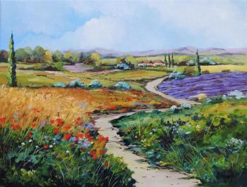Provence, les monts du lubéron