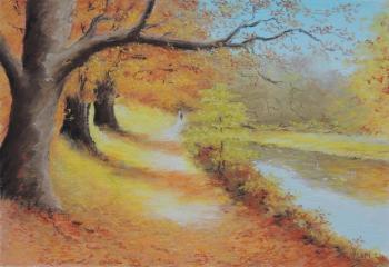 2014, paysage d'automne, englesqueville