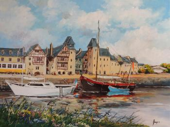Le port de Tréguier